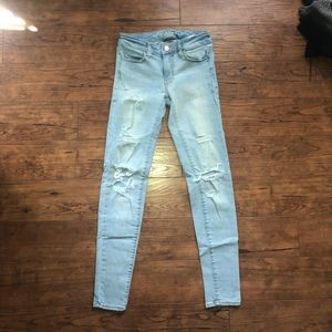 AE Ripped Jeggings (00)